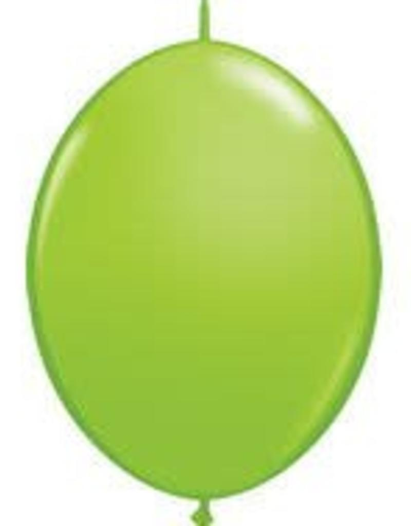 "Qualatex 12"" QUICK LINK LIME GREEN 50CT"