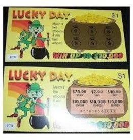 LOTTO LUCK FAKE LOTTERY TICKETS