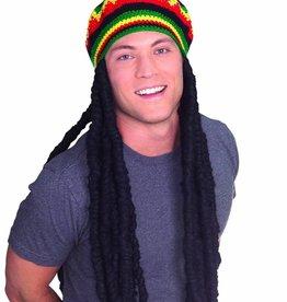 RASTA HAT with braids