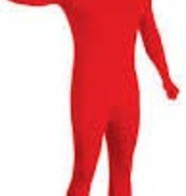 RED 2ND SKIN SUIT -Medium-