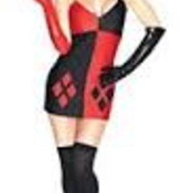 Super Villains Harley Quinn - Large