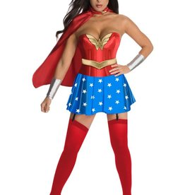Secret Wishes Wonder Woman Corset Pack-Extra Small