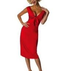 MARILYN RED DRESS - SMALL