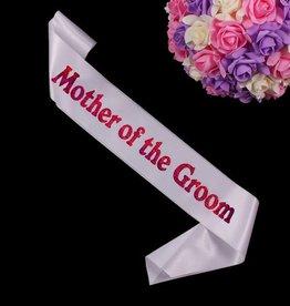 MOTHER OF THE GROOM SASH