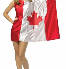 CANADIAN FLAG DRESS - Small/Medium -