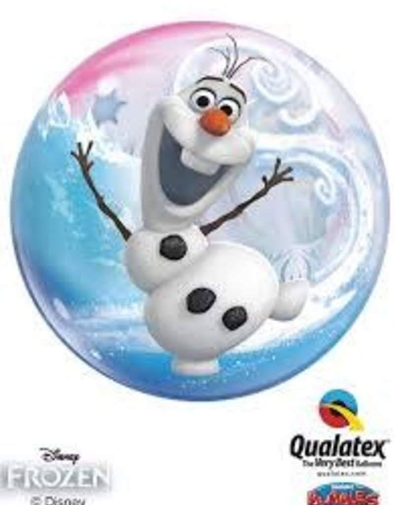 "23"" x 41""FROZEN BALLOON OLAF"