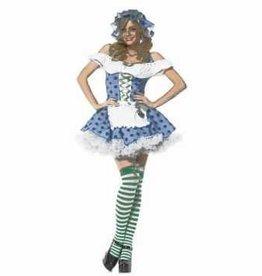 3 PC BLUEBERRY GIRL COSTUME - XS