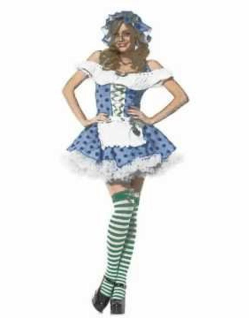 3 PC BLUEBERRY GIRL COSTUME - XS