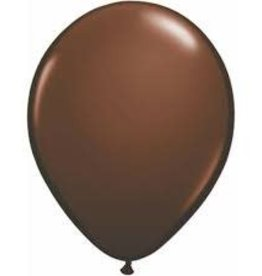 "Qualatex 05"" CHOCOLATE BROWN"