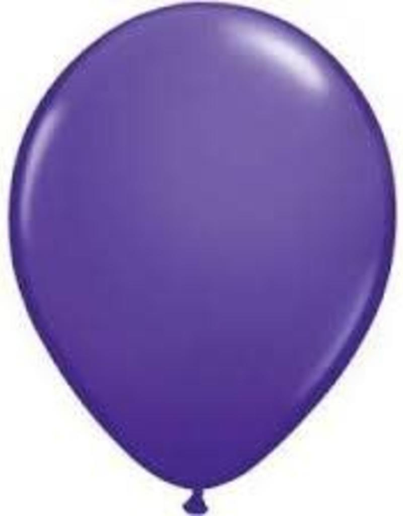 "Qualatex 05"" PURPLE VIOLET 100CT"