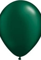 "Qualatex 11"" PEARL FOREST GREEN 100ct"