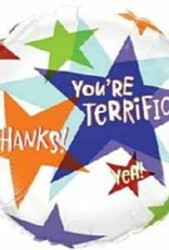 "18"" You're Terrific Stars (FLAT)"