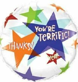 "18"" You're Terrific , Thanks"