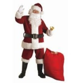 REGAL CRIMSON 6 PCE SANTA SUIT - XXL