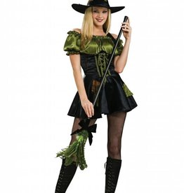 GREEN PATCH WITCH -small-