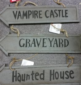 HALLOWEEN DIRECTION SIGN