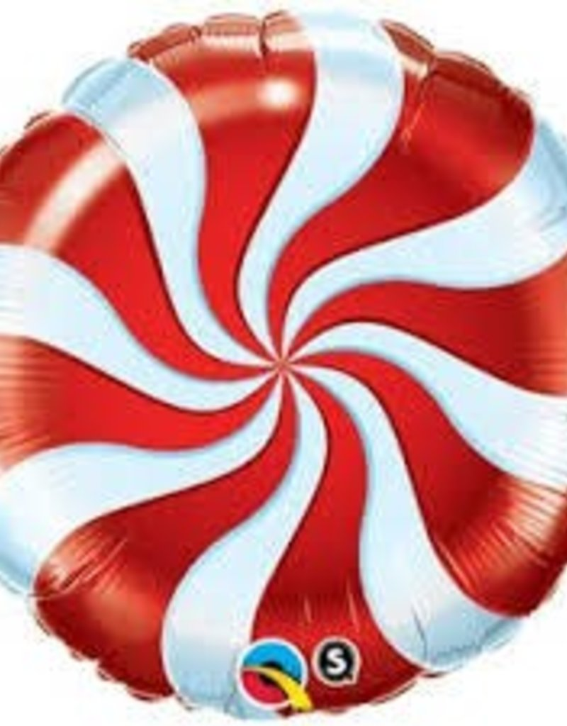 "18"" RED CANDY SWIRL"