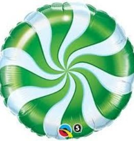"18"" GREEN CANDY SWIRL"
