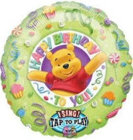 "28"" SING-A-TUNE - WINNE THE POOH HAPPY BIRTHDAY"