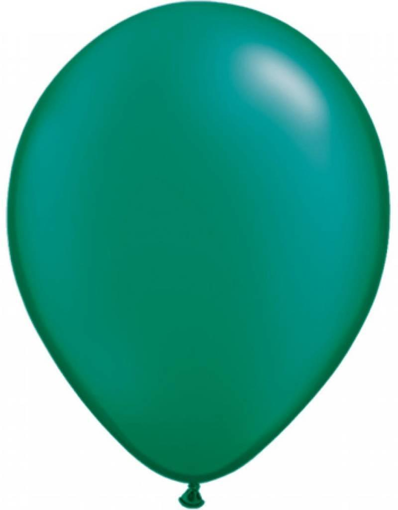 "Qualatex 11"" RND EMERALD GREEN 100 CT"