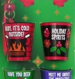 CHRISTMAS SHOT GLASSES
