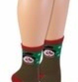 UGLY CHRISTMAS SOCKS - SNOWMAN