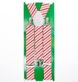 Candy cane suspender