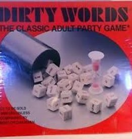 DIRTY WORDS ADULT PARTY GAME