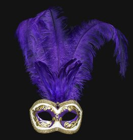 Colombina Plume Occhi Purple