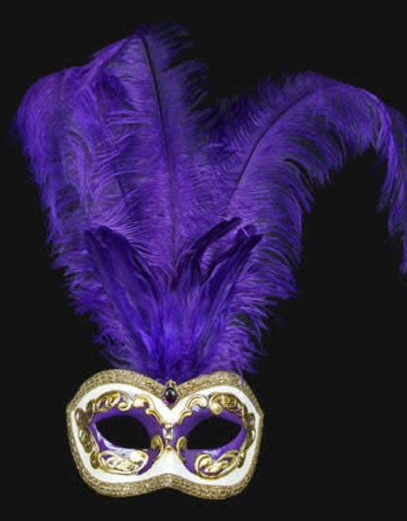 Carta Alta Colombina Plume Occhi Purple