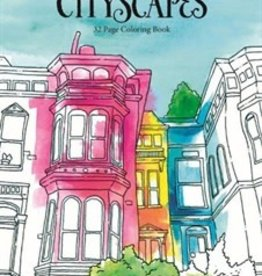 City Scapes Adult Colouting Book