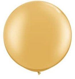 Qualatex 3' RND PRL GOLD