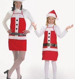 HOLIDAY APRON & HAT adult