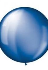 Qualatex 3' Round Sapphire Blue - 2ct