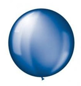 Qualatex 3FT RND SAPPHIRE BLUE 02CT