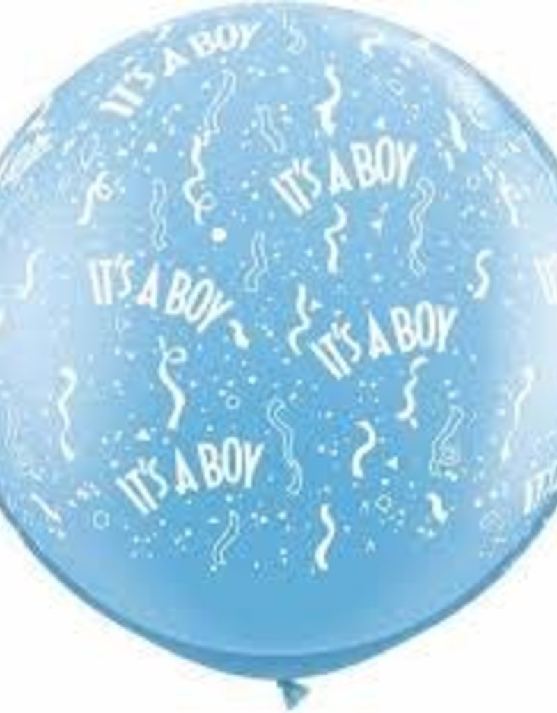 3FT RND PALE BLUE IT'S A BOY-A-ROUND 05CT