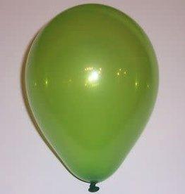 """Qualatex 11"""" RND JEWEL LIME GREEN 100CT"""