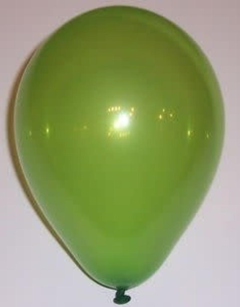 "Qualatex 11"" RND JEWEL LIME GREEN 100CT"