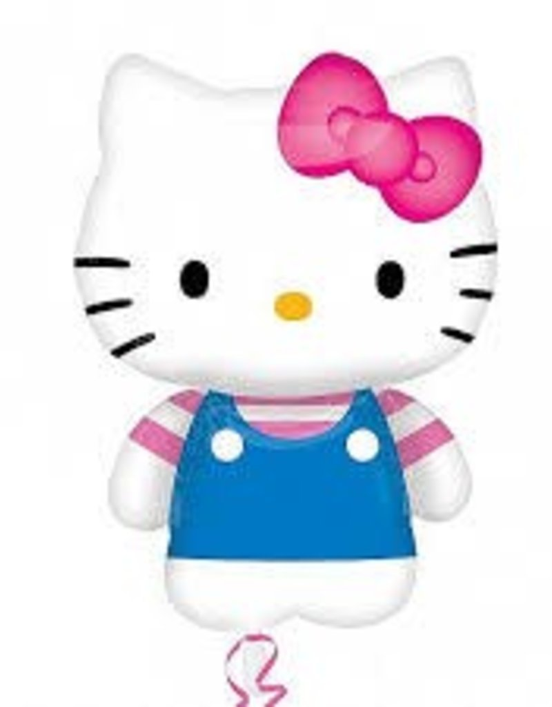 "14""  HELLO KITTY SUMMER FUN MINI SHAPE - Air Inflate"