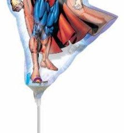 "14"" SUPERMAN CLASSIC MINI SHAPE - Air Inflate"