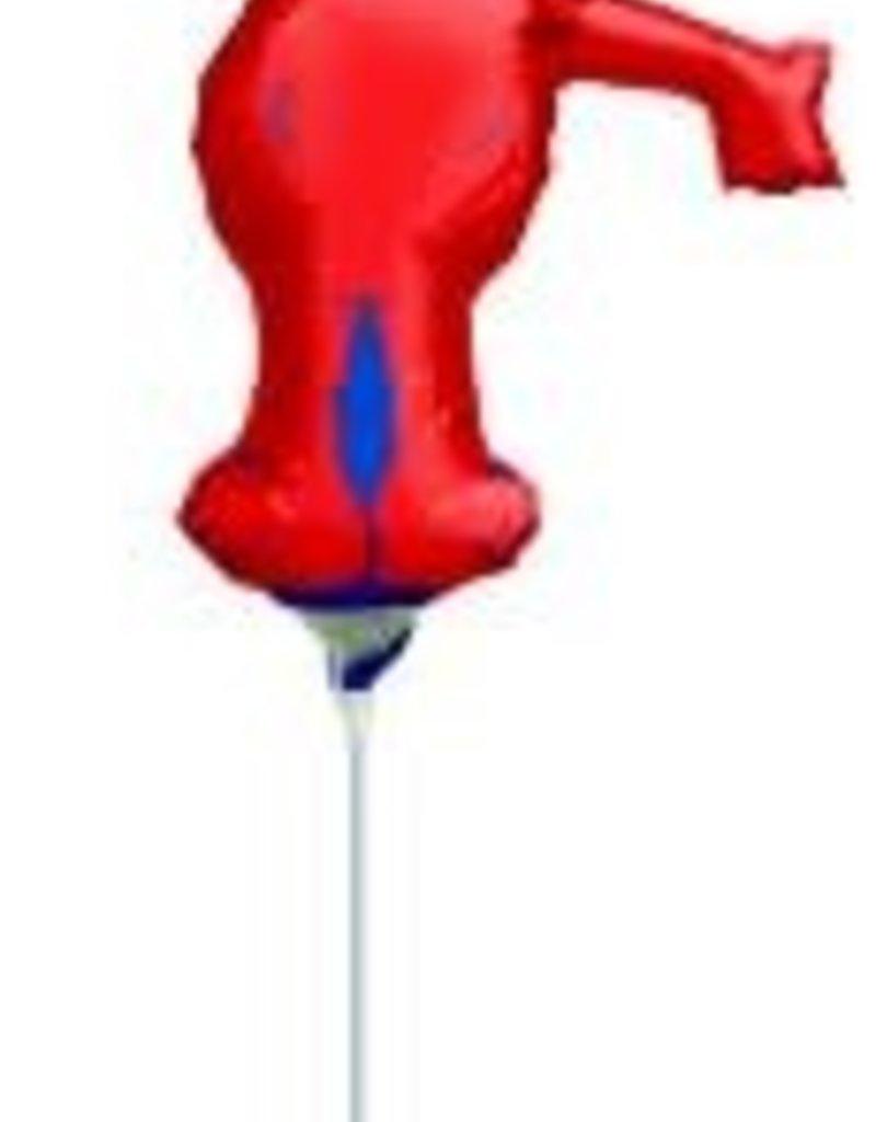 """14"""" ELMO FULL BODY MINI SHAPE - Air Inflate"""
