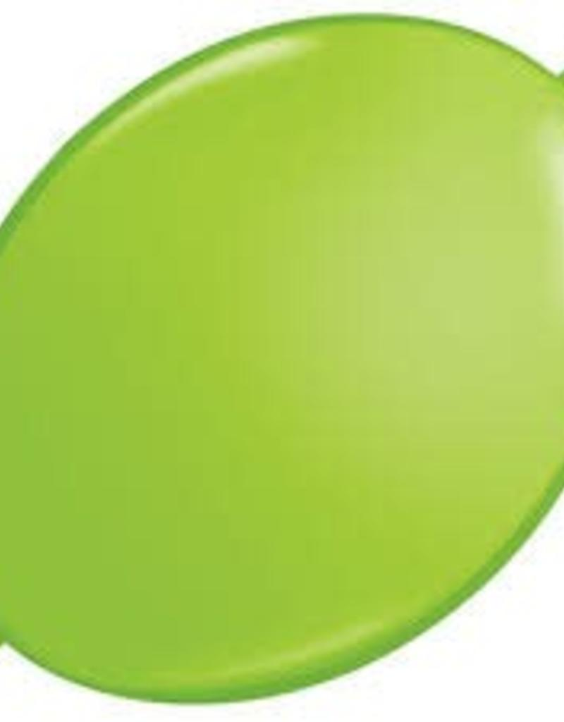 "Qualatex 06"" Quick Link Lime Green 50ct"