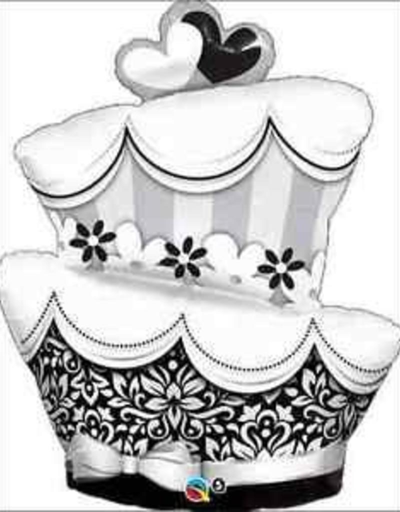 """Qualatex 41"""" FUN AND FABULOUS WEDDING CAKE"""
