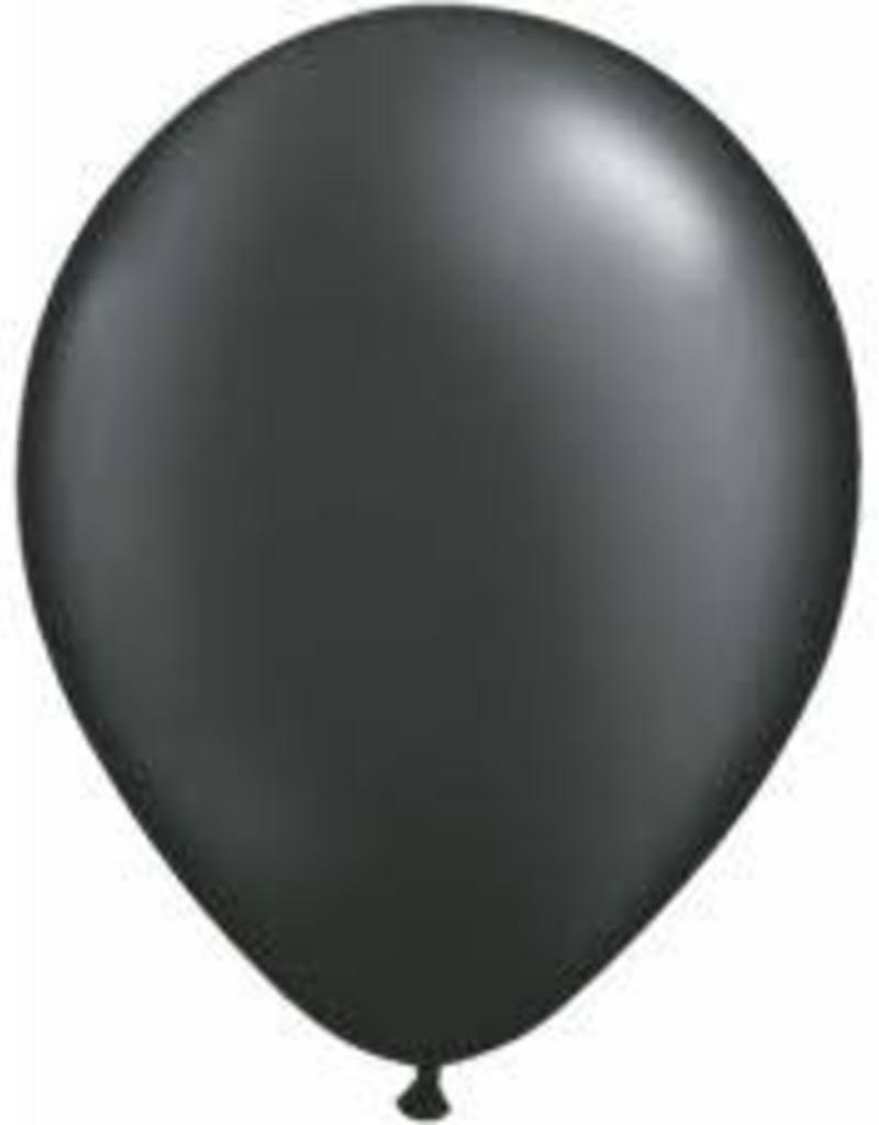 "Qualatex 05"" PEARL ONYX BLACK 100CT"