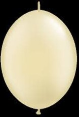 """Qualatex 12"""" QUICK LINK PEARL IVORY 50CT"""