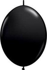 "Qualatex 12"" QUICK LINK ONYX BLACK 50 CT"