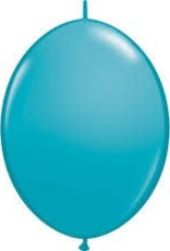 "Qualatex 12"" QUICK LINK TROPICAL TEAL 50 CT"
