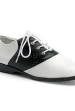 Black & White Saddle Shoe
