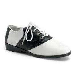 Black & White Saddle Shoe