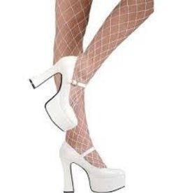 White Mary Janes - Medium Shoe